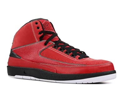 promo code 6bb9e 3a887 Image Unavailable. Image not available for. Color  Jordan Nike Air 2 Retro  QF Candy Pack Varsity Red Black-White Mens Shoes