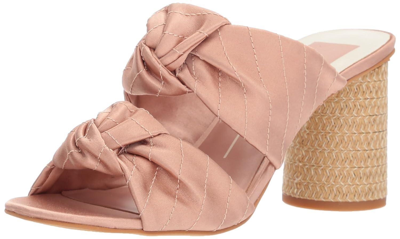 Dolce Vita Women's Jene Slide Sandal B077QSGXNX 9 B(M) US|Light Blush Satin