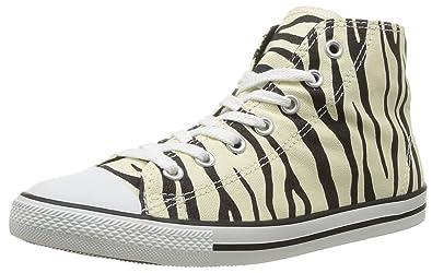 CONVERSE Unisex-Adult Dainty Zebra Mi Trainers