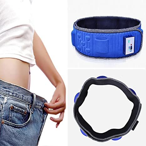 5146cdad6b Image Unavailable. Image not available for. Color  Electric Slimming Belt  X5 Times Vibration Massage Weight Lose Belt Burning Fat ...