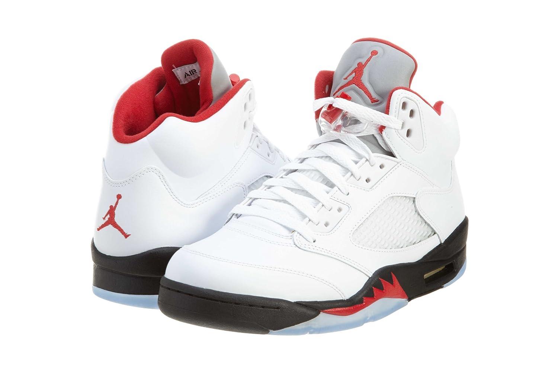 online store 8b760 5513e Amazon.com   AIR Jordan 5 Retro  2013 Release  - 136027-100   Basketball