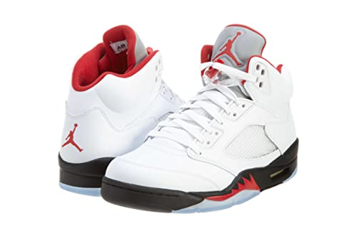 promo code 2a91e 086ea Jordan Nike air 5 Retro  fire red  Size UK 10 ...