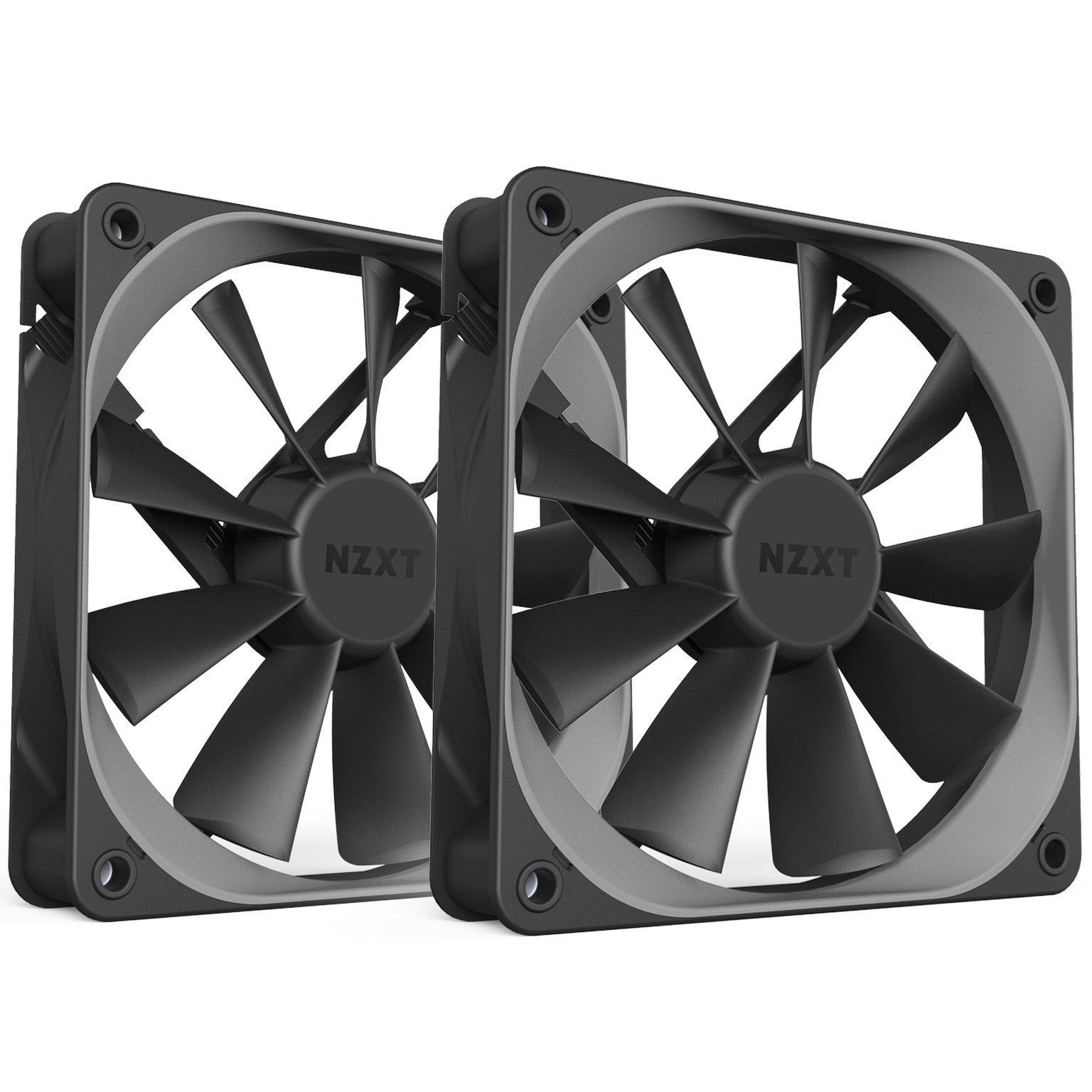 NZXT AER Computer Case Fan Dual Pack 120mm (RF-AF120-D1)