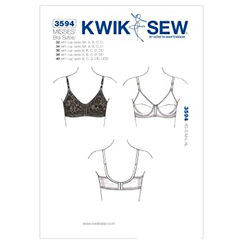 KwikSew Schnittmuster 3594 BH: Amazon.de: Küche & Haushalt