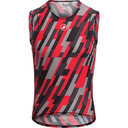 ef2501a2a4b4ec Amazon.com  Castelli Pro Mesh Limited Edition Sleeveless Base Layer ...