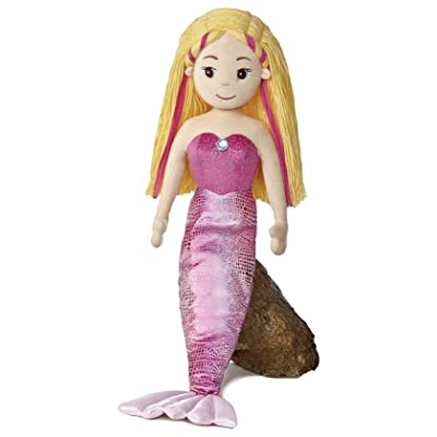 "27"" Sea Sparkles Mermaid Melody Soft Doll: Toys & Games"