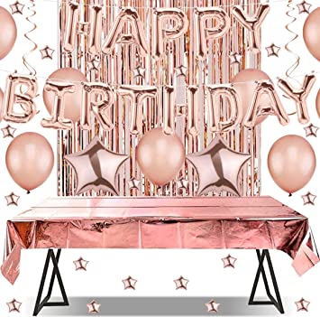 Happy Birthday Geburtstag Luftballon Party-Deko-Set Partygeschirr Tischdeko