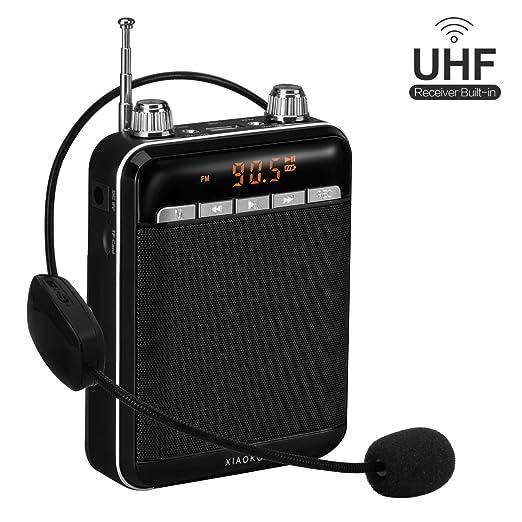 12 opinioni per XIAOKOA Amplificatore Super Voice con microfono senza fili 2.4G (auricolare 40m