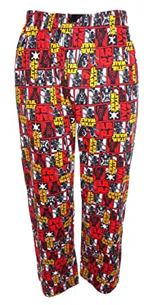 Star Wars Darth Vader Mens Lounge Pants Pyjama Bottoms Small