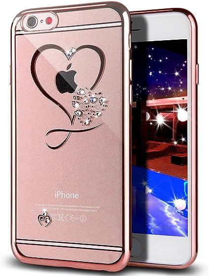 Opinioni per iPhone 6S 6 Cuore Custodia Protezione di NICA
