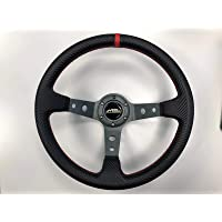 MCPerformance volante desplazado drift rally 350 mm carbono