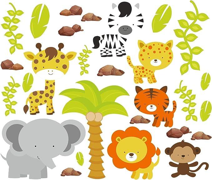 De piel de tigre de animales de la selva de león de animales de la ...