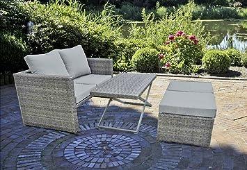 Garten Und Terrassenmöbel amazon de 4tlg garten sofa set lounge sitzgruppe terrasse möbel