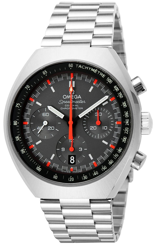 Omega Speedmaster Chronograph Grey Dial Steel Mens Watch 327.10.43.50.06.001