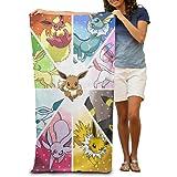 Adhra Lucky Pokemon Go Beach Towel For Adults / 31.5'' X 51.2''