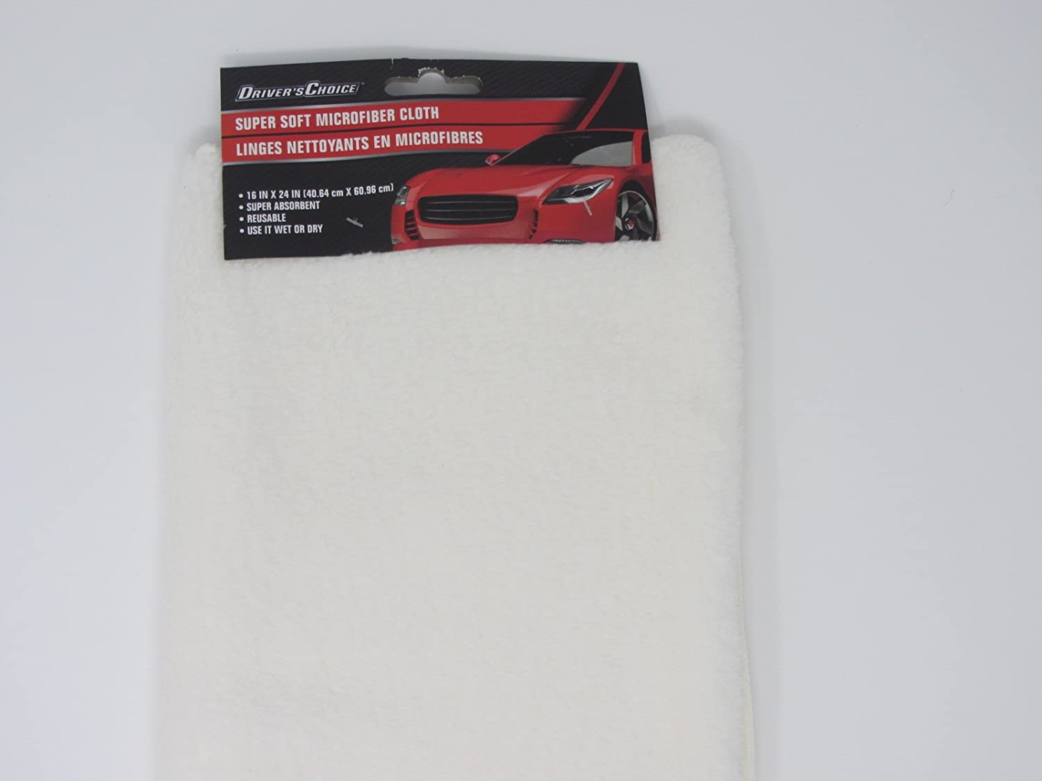 Driver's Choice Microfiber Cloth for Car Care Super Soft and Absorbent 16x24 Greenbrier International