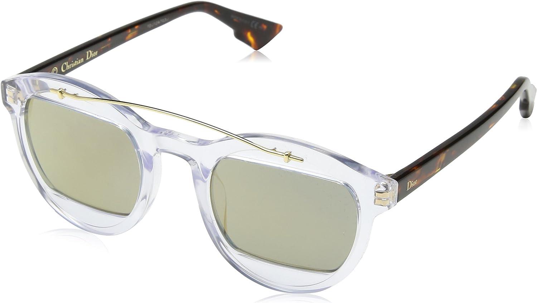 Dior DIORMANIA1 JO LWP Gafas de sol, Marrón (Crystal Hvna Bronze Grey Speckled), 50 para Mujer