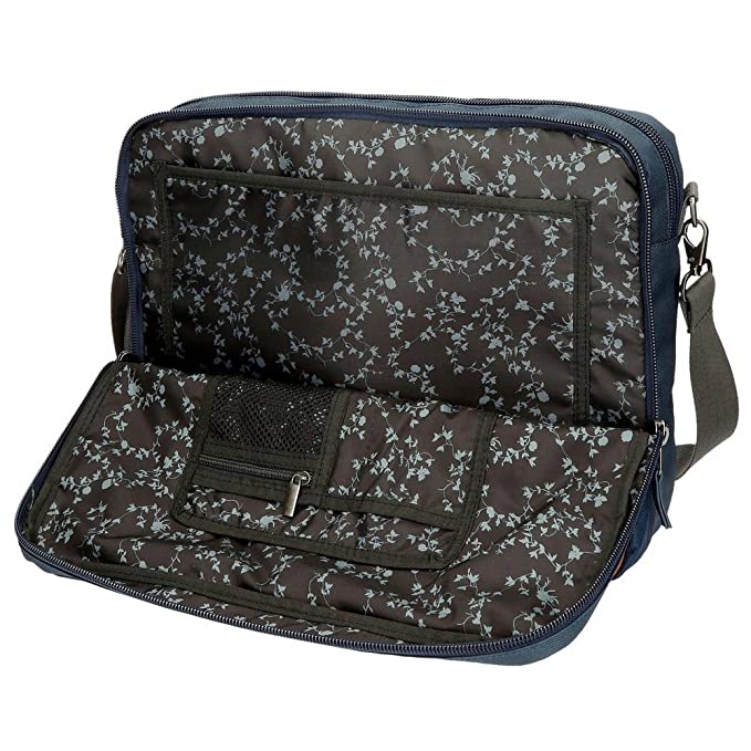 Pepe Jeans Beckers Maletín, 42 cm, 15.25 litros, Azul: Amazon.es: Equipaje