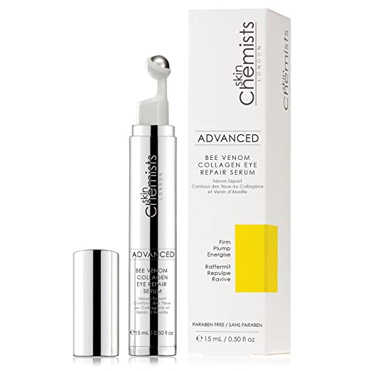 Amazon.com: skinChemists Advanced Bee Venom Collagen Eye Repair ...