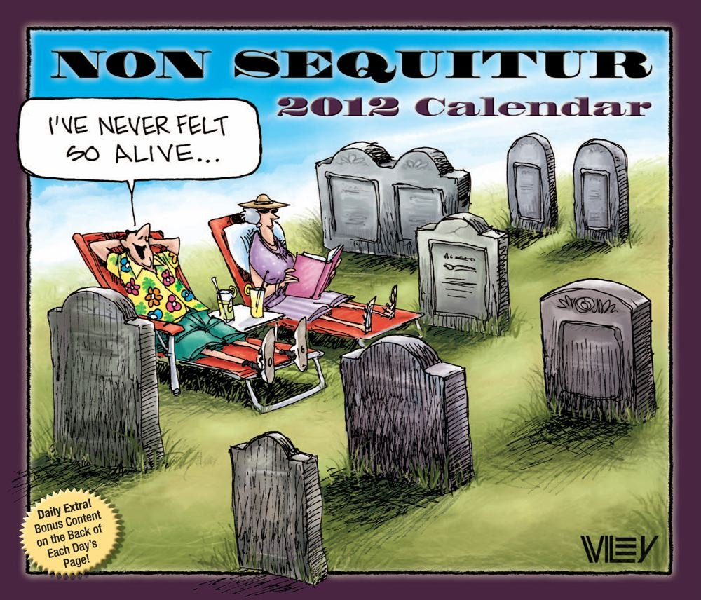 Non Sequitur: 2012 Day-to-Day Calendar