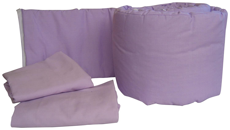 BabyDoll Solid Colors Grandmas Port-A-Crib Package, Lavender baby doll bedding 500gp