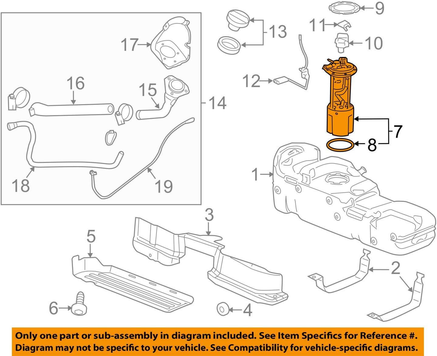 Amazon.com: General Motors 13589707, Electric Fuel Pump: AutomotiveAmazon.com