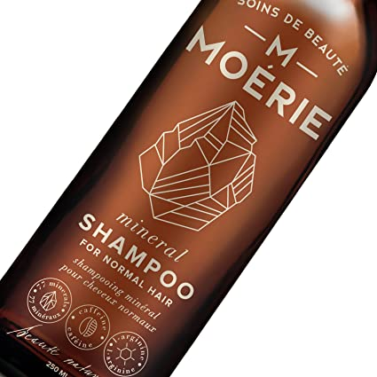 moerie Mineral shampoo- mejor natural champú – Organic shampoo- Sulfato Free- 77 minerales