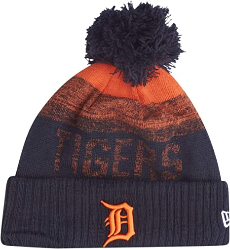 on wholesale cost charm preview of New Era MLB ON-FILED Fleece Winter Beanie - Detroit Tigers: Amazon ...