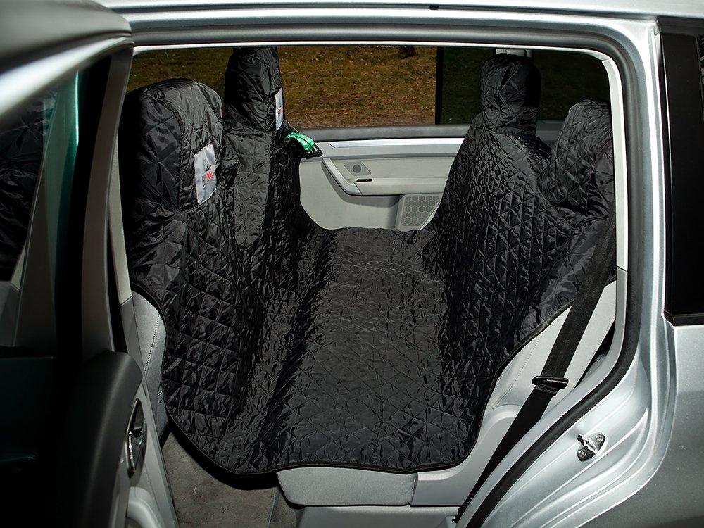 Black MediumHOBBYDOG Standard Car Seat Cover, Large, Black