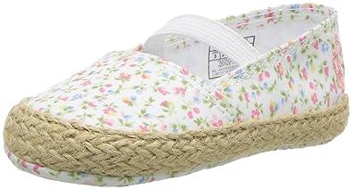 7052483af Polo Ralph Lauren Kids Girls' Bowman Crib Shoe Paperwhite/Floral 1 M US  Infant