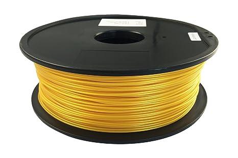 Qidi tecnología Golden Pla 3d impresora filamento: Amazon.es ...
