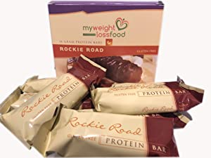 HealthWise Rockie Road Protein Bar, (7 packets of 1.4 oz, net 9.835 oz.)