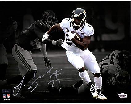 23b95c345 Leonard Fournette Jacksonville Jaguars Autographed 11 quot  x 14 quot   Running Spotlight Photograph - Fanatics Authentic