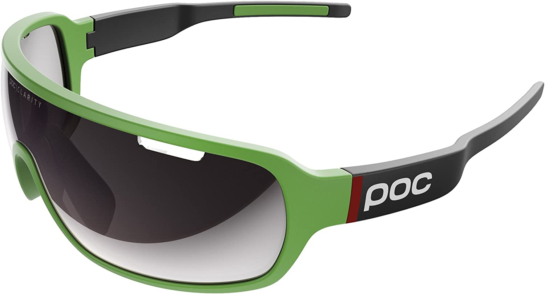 POC DOブレード、多彩なサングラス、キャノンデールグリーン/ウランブラック