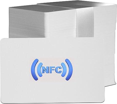 10 x 13.56 MHz Mifare Classic RFID NFC Carte 1K porte de contrôle d/'accès Noir Tag