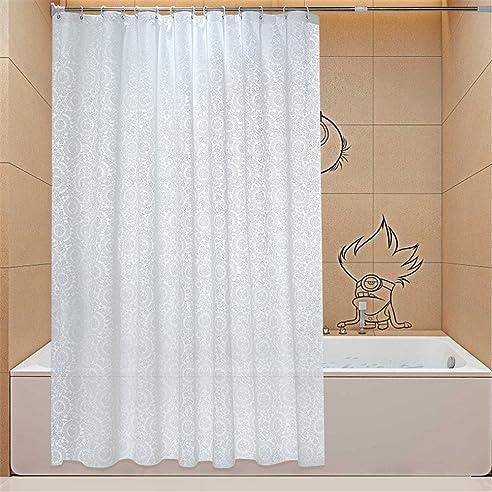 miwang wc vorhang stoff dusche badezimmer wasserdicht schimmelbestndiges dicken vorhang wand duschvorhnge drapierten vorhngen hngender - Stoff Vorhang Dusche