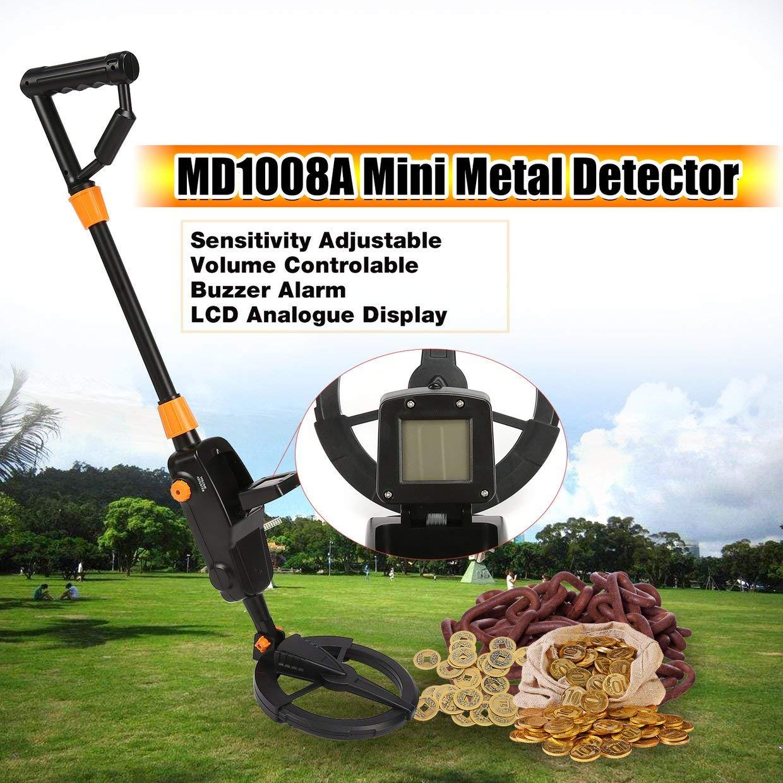 MXECO MD1008A Detector de Metales subterráneo de Mano Kid Gift Toy ...