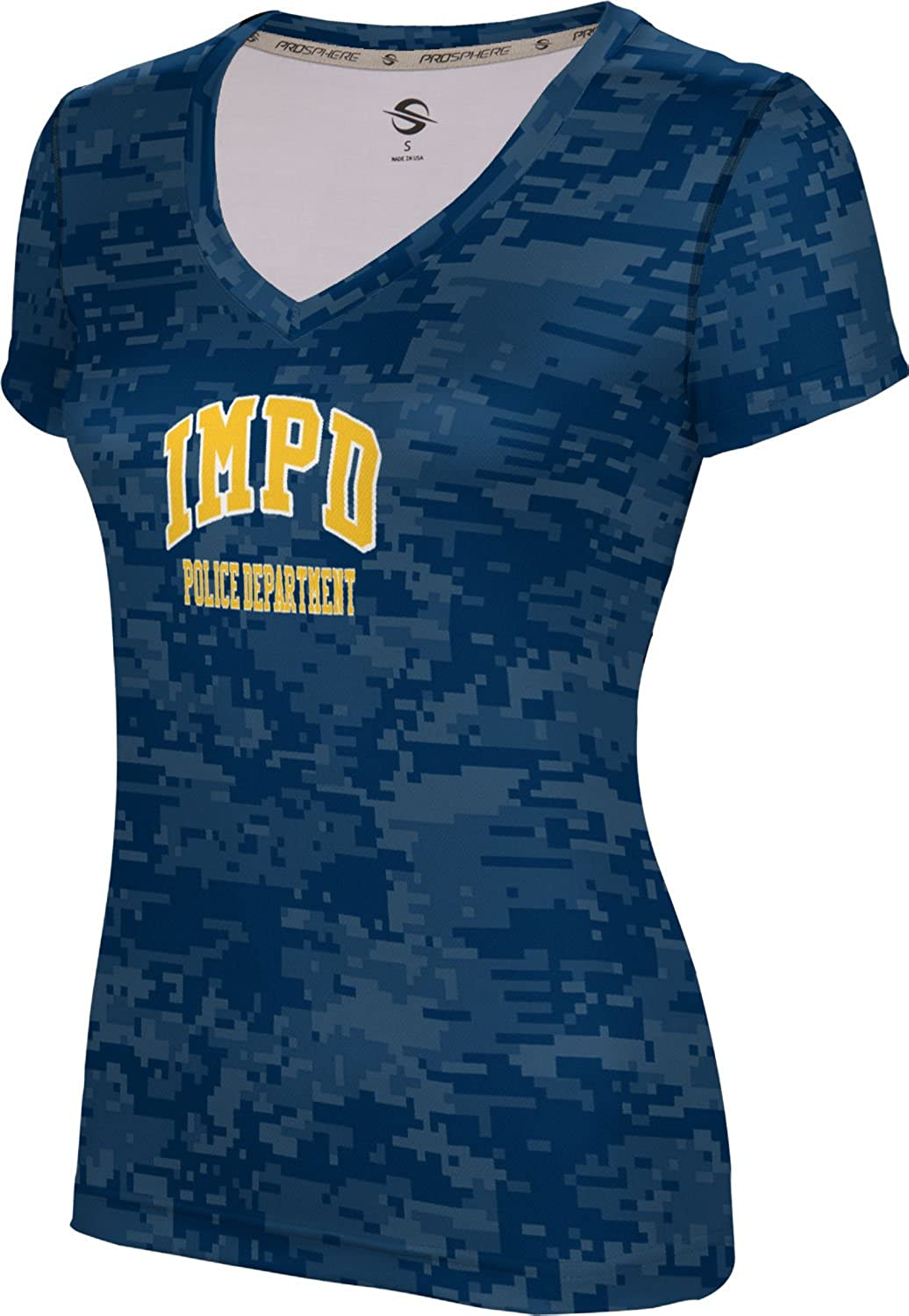 Women's Indianapolis Metropolitan Police Department Digital SL V-Neck Training Tee