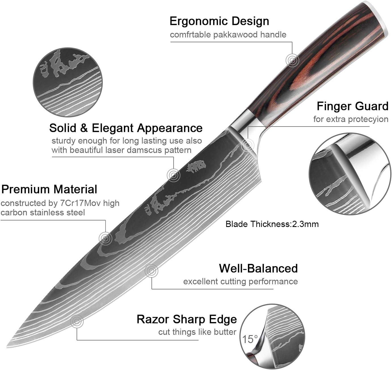 Aexit Cocina Pl/ástico rojo Agarre Cuchilla de acero inoxidable model: V8625IXII-4252WA Cuchilla Abrelatas Tijera