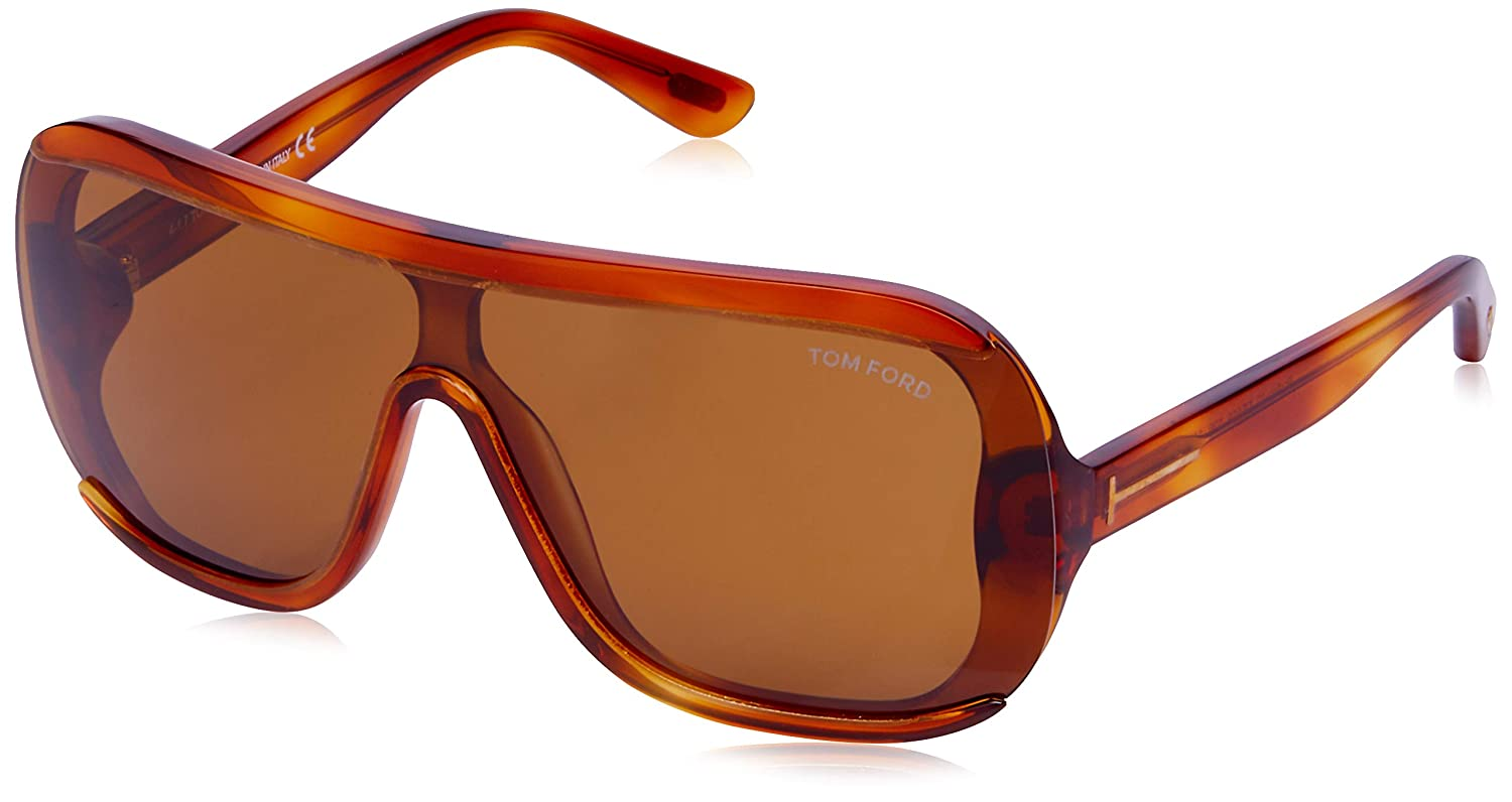 d0cee756d2b Sunglasses Tom Ford FT 0559 Porfirio- 02 53E blonde havana brown at Amazon  Men s Clothing store