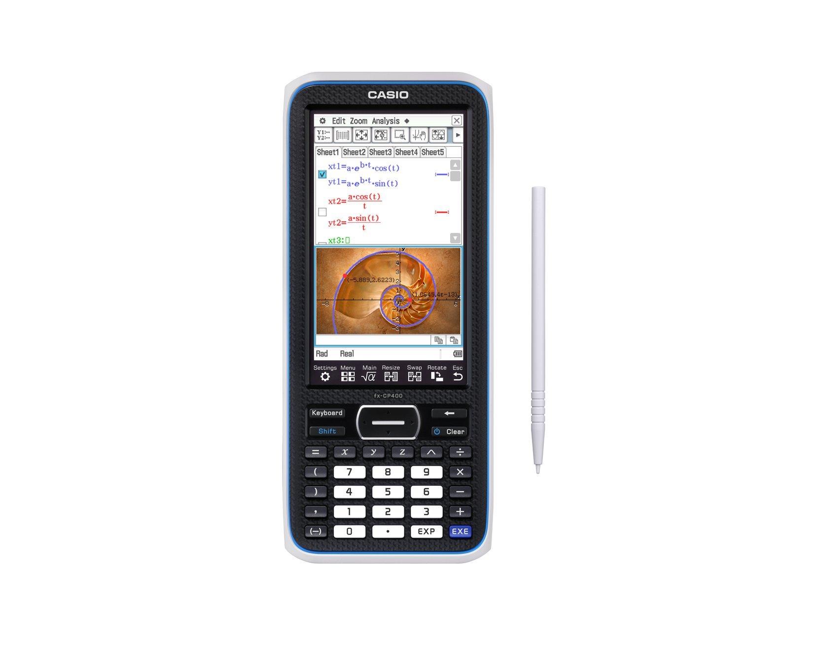 Casio FX-CP400-L Graphing Calculator