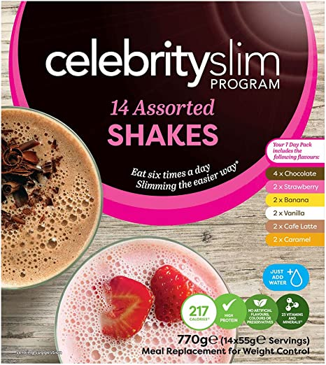 Celebrity slim chocolate shake ingredients