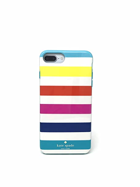 low cost 5f364 1d5ed Kate Spade New York 'Candy Stripe' Protective Case for iPhone 7 Plus &  iPhone 6 Plus