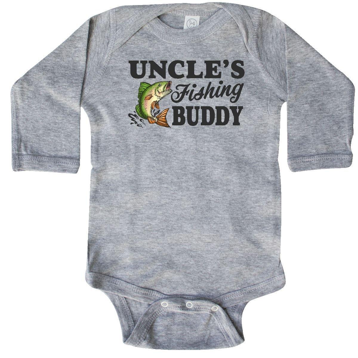 452c4ea05 Amazon.com: inktastic - Uncle's Fishing Buddy Long Sleeve Creeper 2ac86:  Clothing