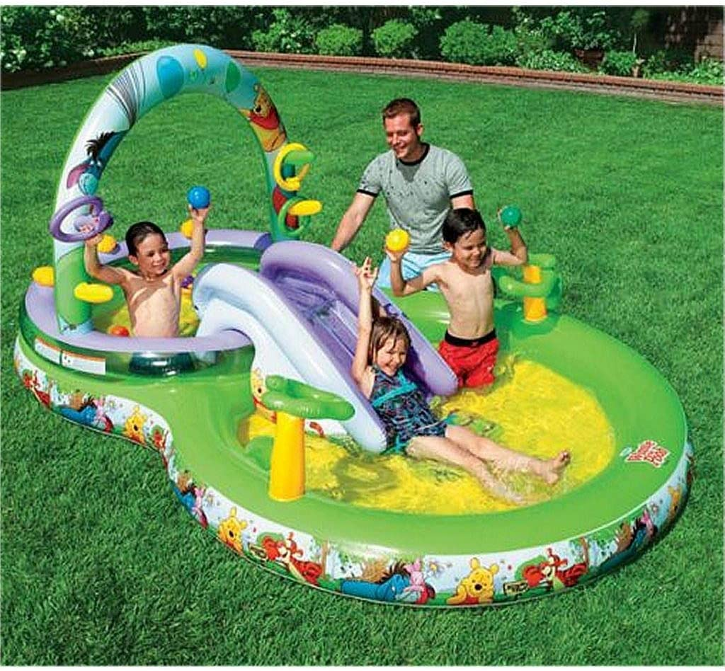 Intex - Piscina para niños Winnie The Pooh (57451): Amazon.es ...