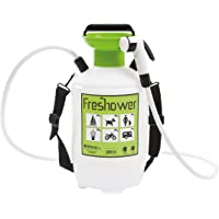 Freshower 7 8311.S00 - Ducha Portátil (plástico, 19 x 19 x 41 cm), Color Transparente, Verde y Negro