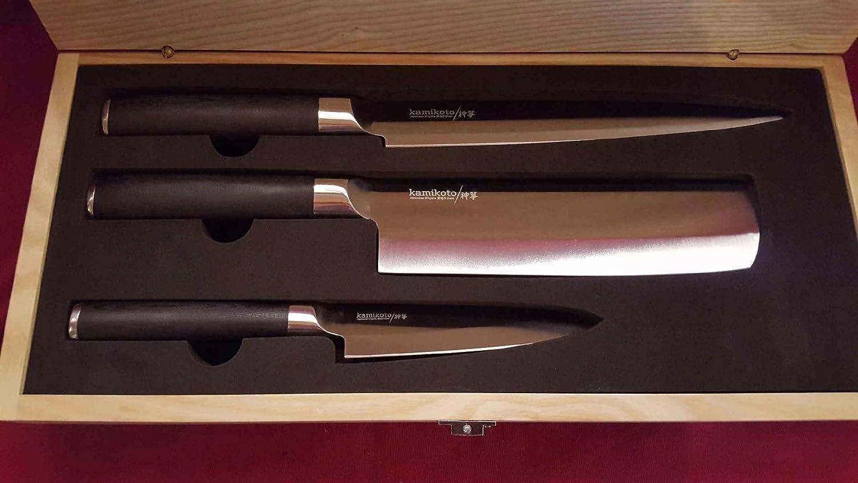 Kamikoto kanpeki 3 pieces knife set