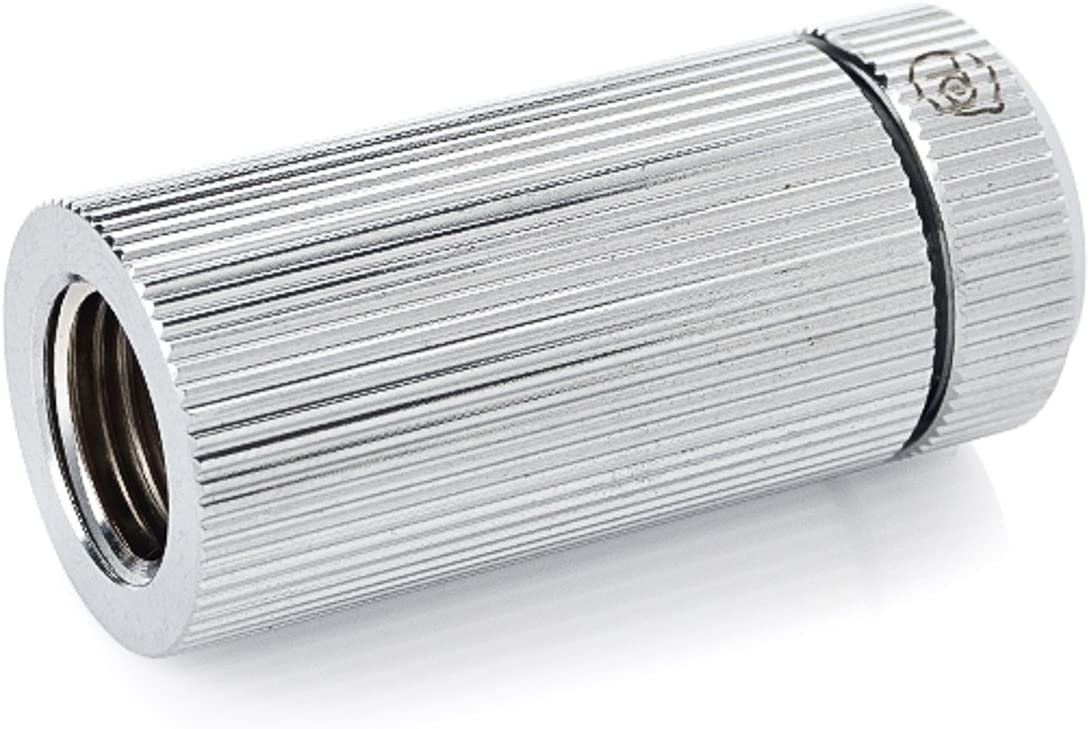 Glorius Silver Touchaqua Inner G1 4 inch Female Adjustable Link Pipe 41-69mm TA-IGFALP4169-GS