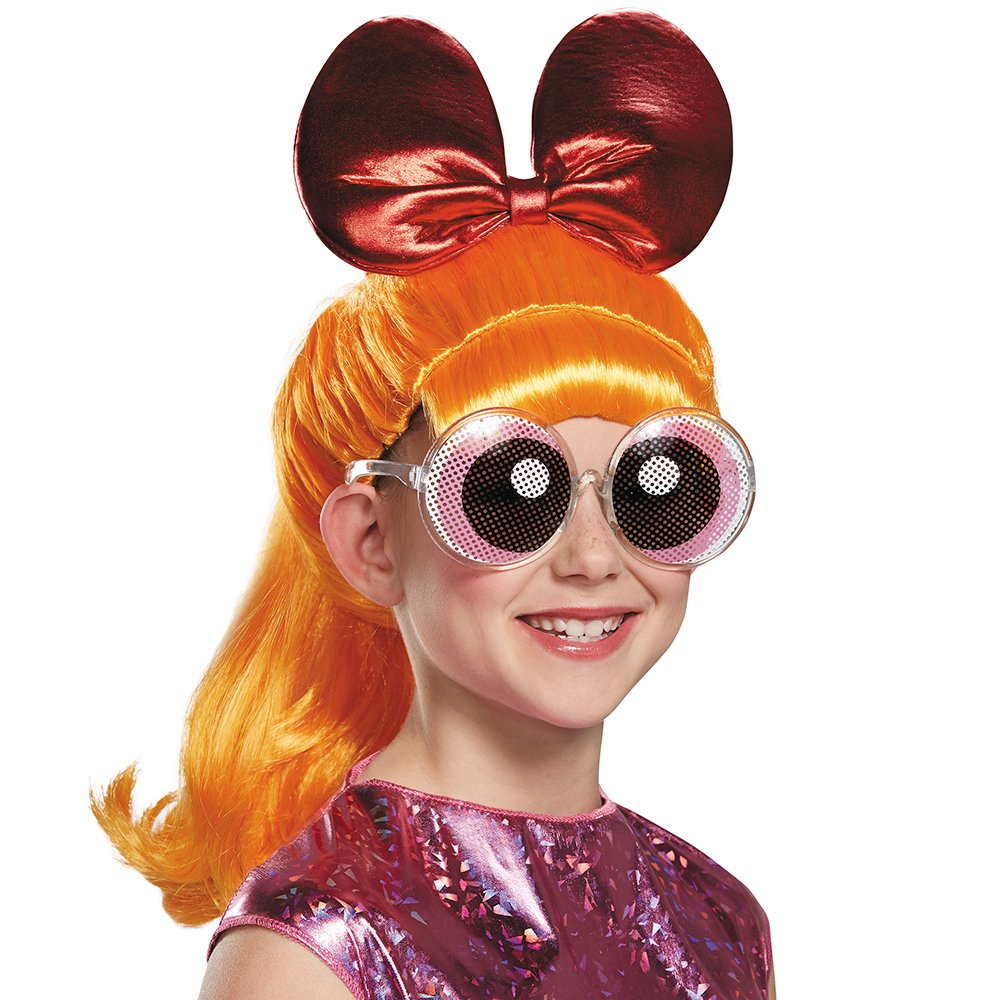 Blossom Powerpuff Girls Wig, One Size Child by Disguise