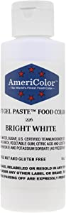 Americolor Soft Gel Paste Food Color, 6-Ounce, Bright White